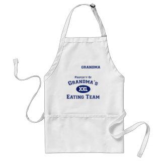 Grandma's Eating Team Apron (Grandma)