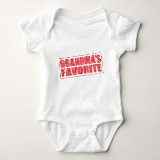 Grandma's Favorite rubber stamp image Baby Bodysuit