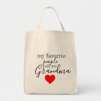 Grandma's favorite Tote (personalized)