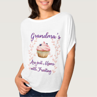 Grandma's Frosting Typography T-Shirt