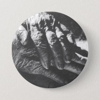 Grandma's Hands 3 Inch Round Button
