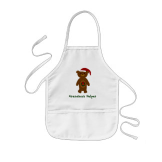 Grandma's Helper Christmas Apron - Kids' Apron