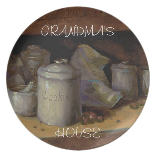 GRANDMA'S HOUSE PLATE NEW ITEM!!!