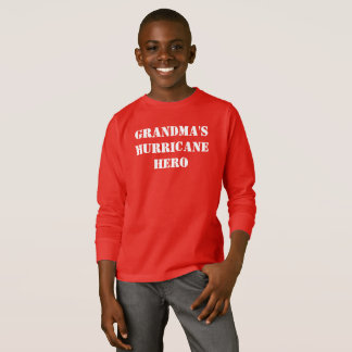 Grandma's Hurricane Hero T-Shirt