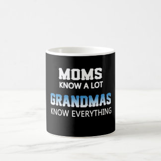 Grandmas Know Everything Coffee Mug