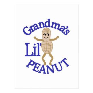 Grandma's Lil' Peanut Postcard