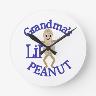 Grandma's Lil' Peanut Wall Clocks