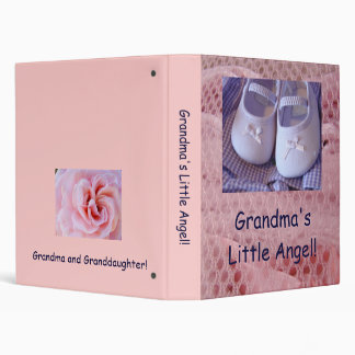 Grandma's Little Angel! binder Granddaughter photo