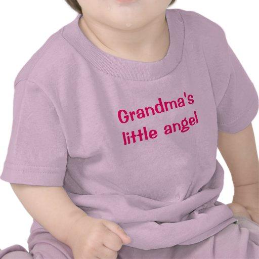 Grandma's little angel tee shirt