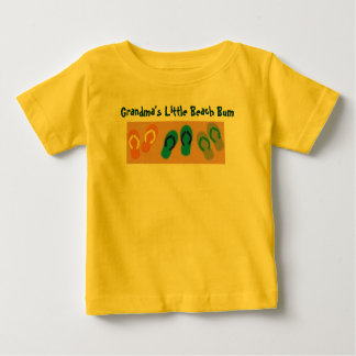 Grandma's Little Beach Bum Baby T-Shirt