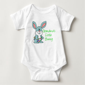 Grandma bunny gifts grandma bunny gift ideas on zazzle grandmas little bunny baby bodysuit negle