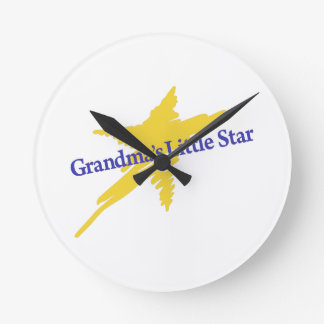 Grandmas Little Star Wall Clock