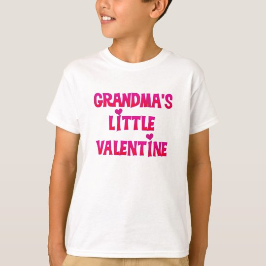 Grandma's Little Valentine T-Shirt