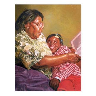 Grandma's Love 1995 Postcard