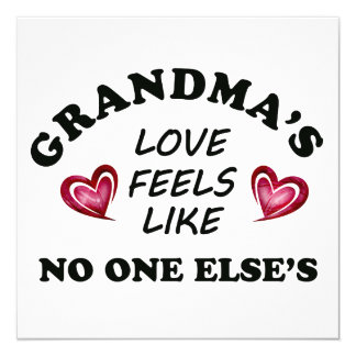 Grandma's Love Card