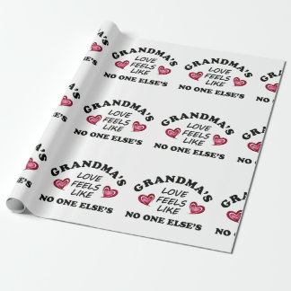 Grandma's Love Wrapping Paper