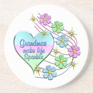 Grandmas Make Life Sparkle Coaster