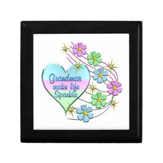 Grandmas Make Life Sparkle Gift Box