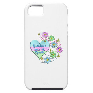 Grandmas Make Life Sparkle iPhone 5 Covers