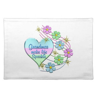 Grandmas Make Life Sparkle Placemat