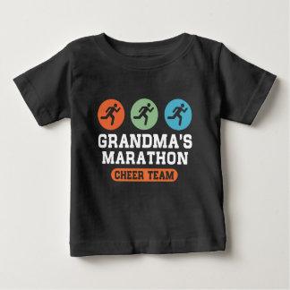 Grandma's Marathon Cheer Team Baby T-Shirt