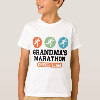 Grandma's Marathon Cheer Team T-Shirt