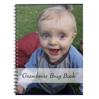 Grandmas Photo Brag Book Notebook