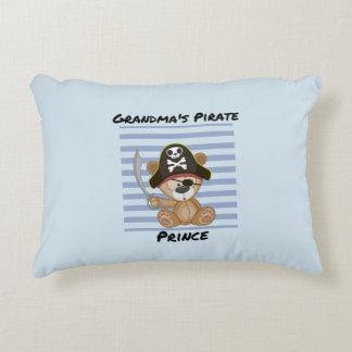 Grandma's Pirate Prince Brushed Polyester Decorative Pillow