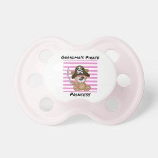 Grandma's Pirate Princess BooginHead® Pacifier