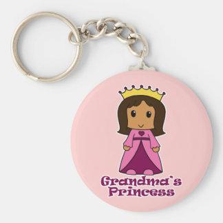 Grandma's Princess Keychain