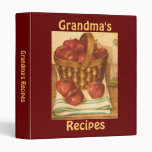 Grandma's Recipes - Binder