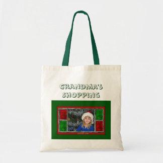 Grandma's Shopping Budget Tote Bag