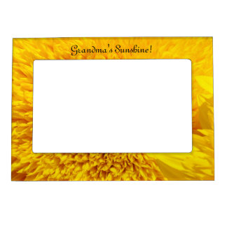 Grandma's Sunshine! Magnetic Photo Frame Sunflower