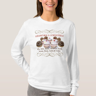 Grandma's Sweeties, Personalized Tee Shirt