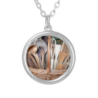 Grandma's Tools Silver Plated Necklace