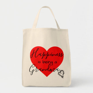 grandma's tote - happiness is being a grandma