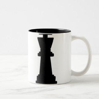 Grandmaster in training Two-Tone coffee mug