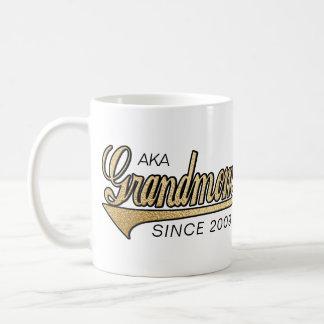 """Grandmom Mug """"AKA Grandmom Since..."""""""