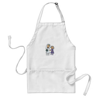 Grandmother Of The Bride On Wedding Day Standard Apron