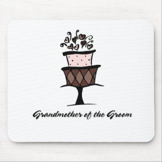 Grandmother of the Groom Cake Mouse Pad