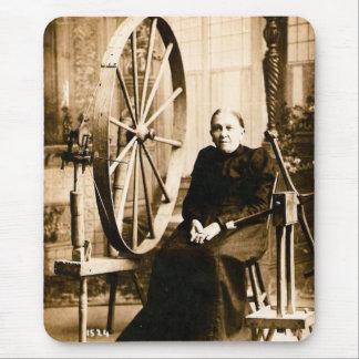 Grandmother's Spinning Wheel  Louis Pesha Mouse Pad