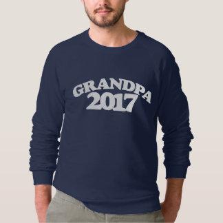 Grandpa 2017 sweatshirt