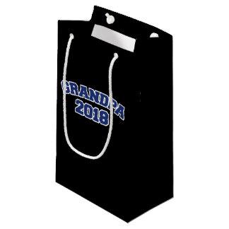grandpa 2018 small gift bag