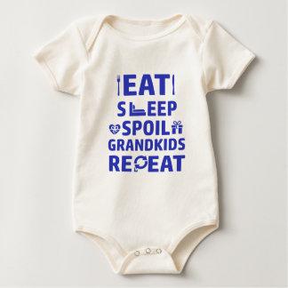 Grandpa and Grandma Baby Bodysuit