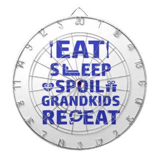 Grandpa and Grandma Dartboard