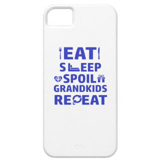 Grandpa and Grandma iPhone 5 Case