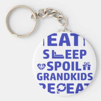 Grandpa and Grandma Keychain