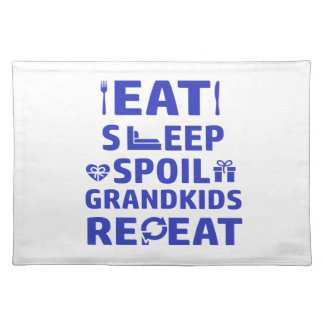 Grandpa and Grandma Placemat