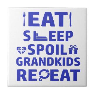 Grandpa and Grandma Tile
