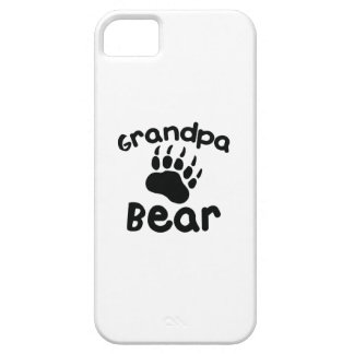 Grandpa Bear iPhone 5 Case